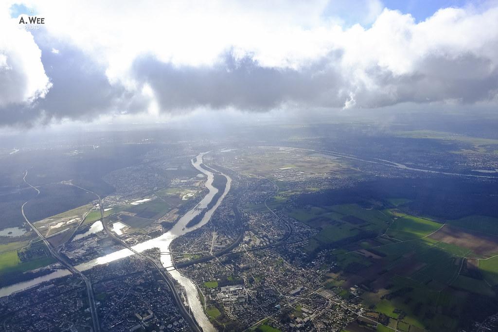 River Seine meets River Oise