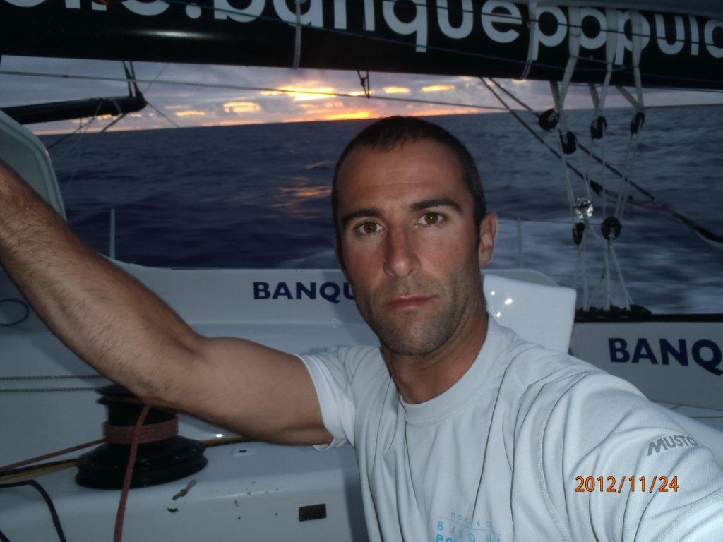 Photo envoyée du bord 25-11-12 - Jour 15 - Vendée Globe 2012 / BPCE