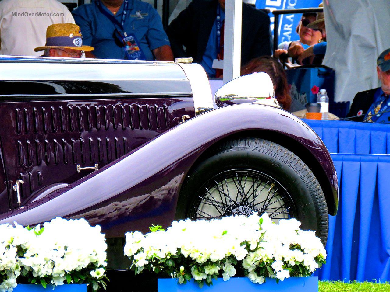Amelia Island Concours Bugatti Type 57