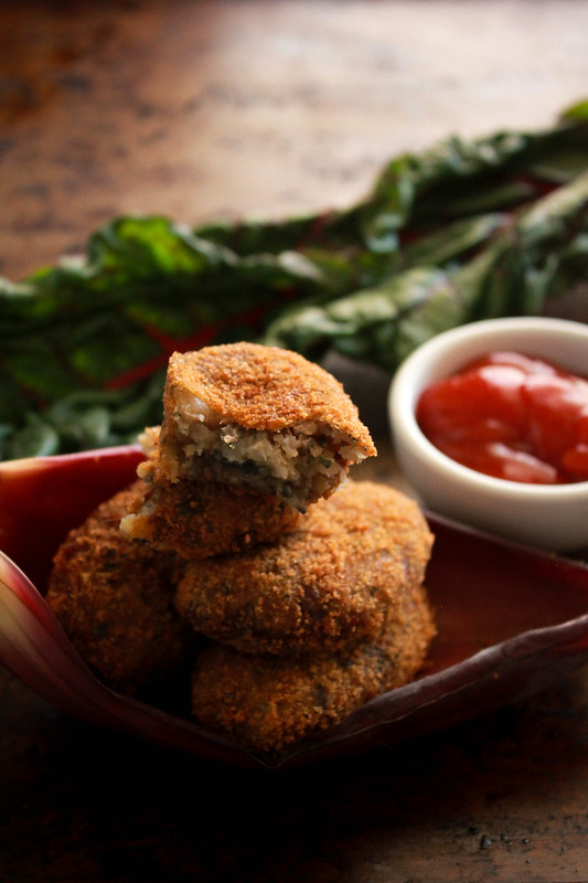 BANANA FLOWER & SWISS CHARD CUTLETS