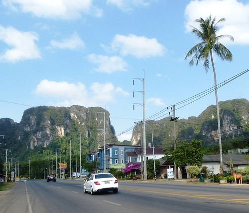 Krabi-Noppharat Thara-route (2)