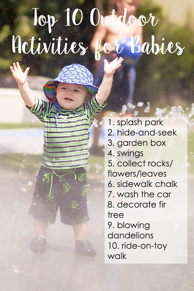 cute & little blog | top 10 free outdoor activities for babies and toddlers