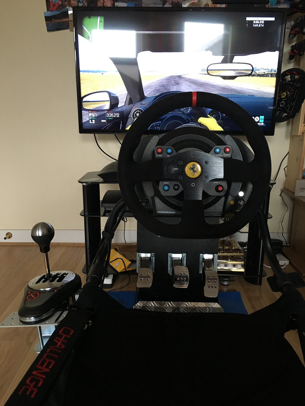 Who uses a simulation cockpit ? [Archive] - Project CARS