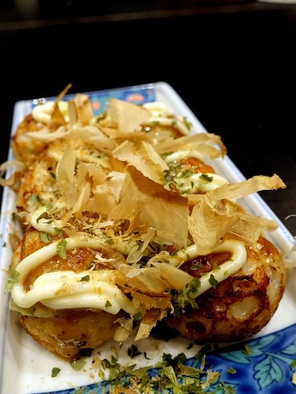 Oedo Japanese Restaurant- Takoyaki P100