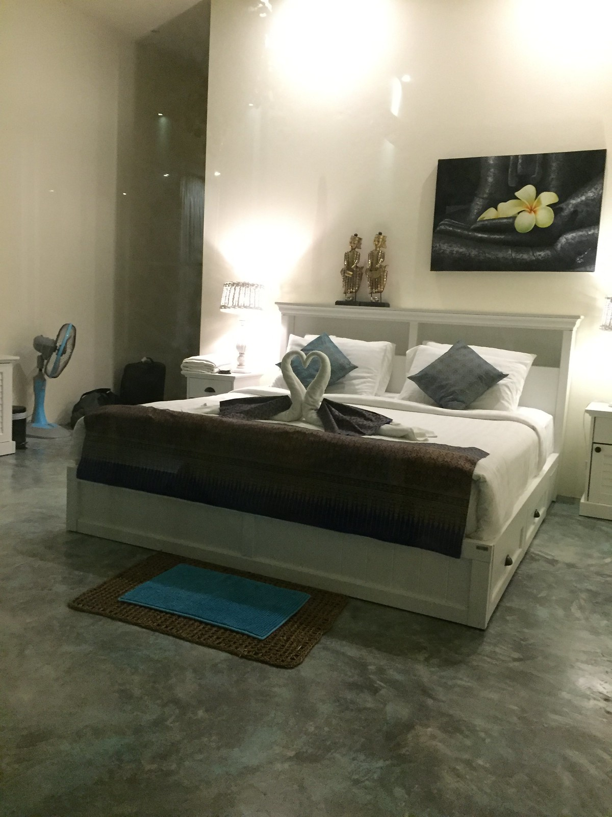 Coral House Bedroom