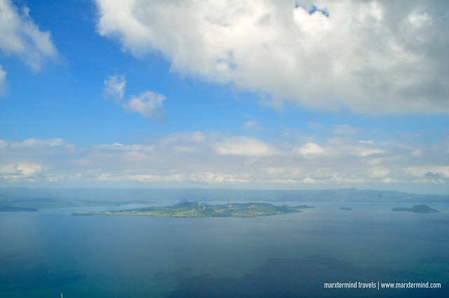 Taal Lake as seen from The Rockies Mount Maculot
