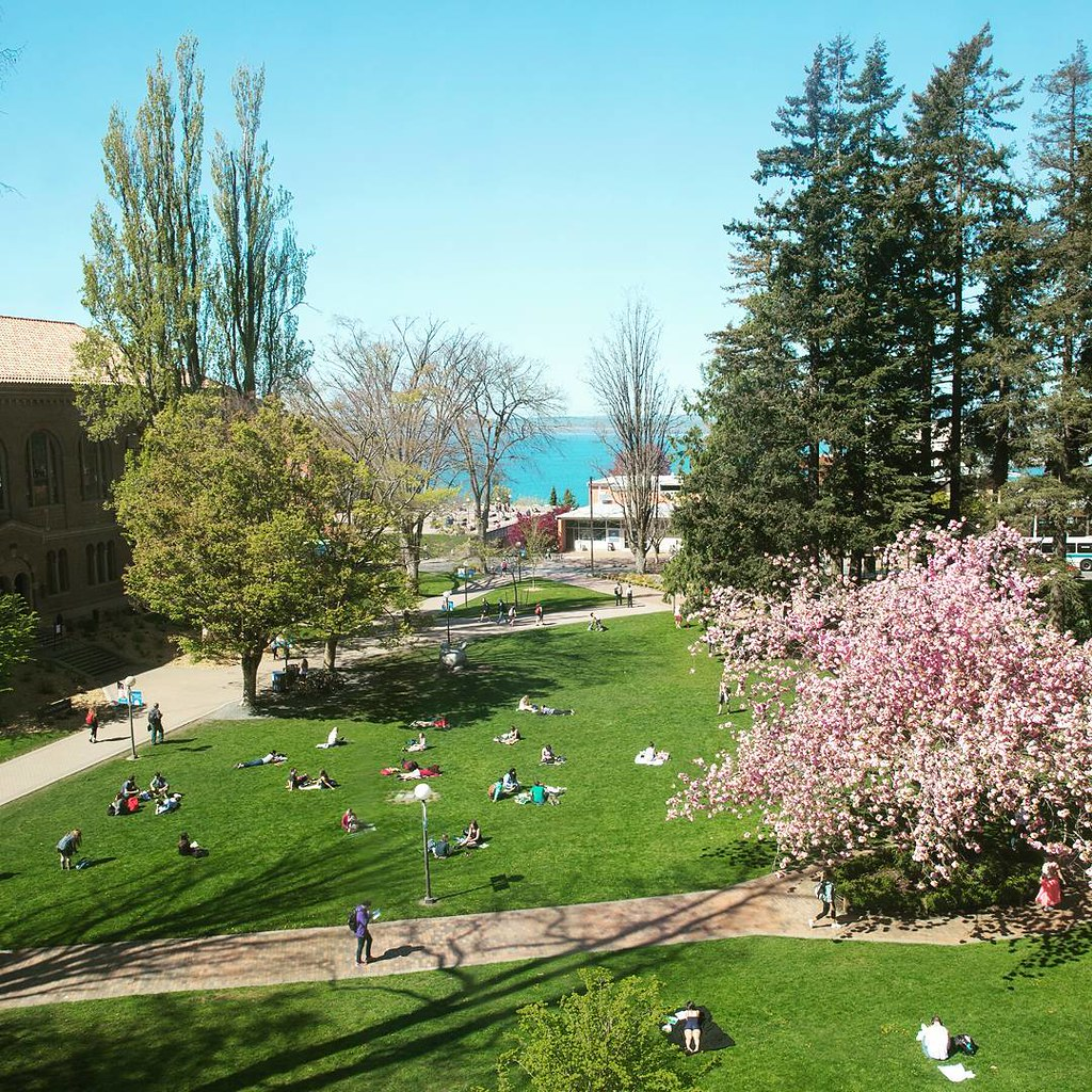 Rain is lovable in its own way, but these truly are the days for which we endure our long, drizzly winters. Enjoy the sunshine, Vikings.   #wwu #wwyou #springatwestern #upperleftusa #bellinghome