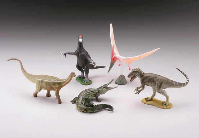海洋堂《膠囊Q博物館》 恐龍挖掘記 「日本的恐龍篇章」!