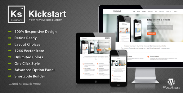 Kickstart v2.7 – Retina Responsive Multi-Purpose Theme