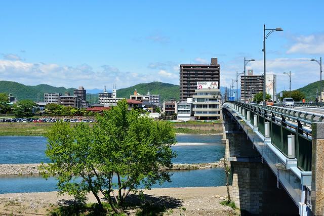 長良川と長良橋