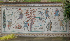 Sherpherdess Walk & Hoxton Varieties Mosaics