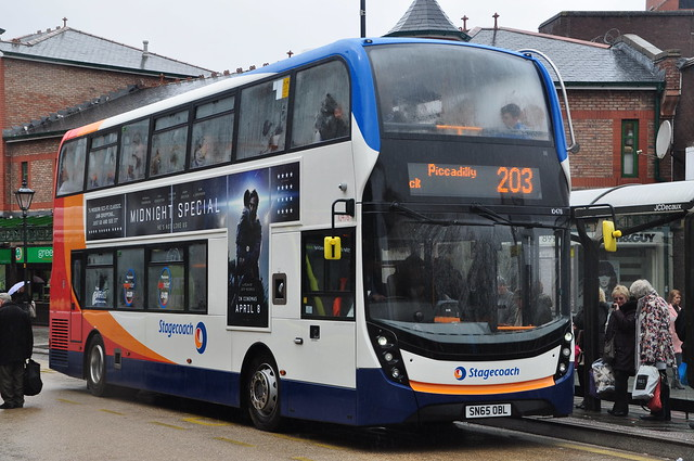 STAGECOACH MANCHESTER 10478-HE-SN65 OBL
