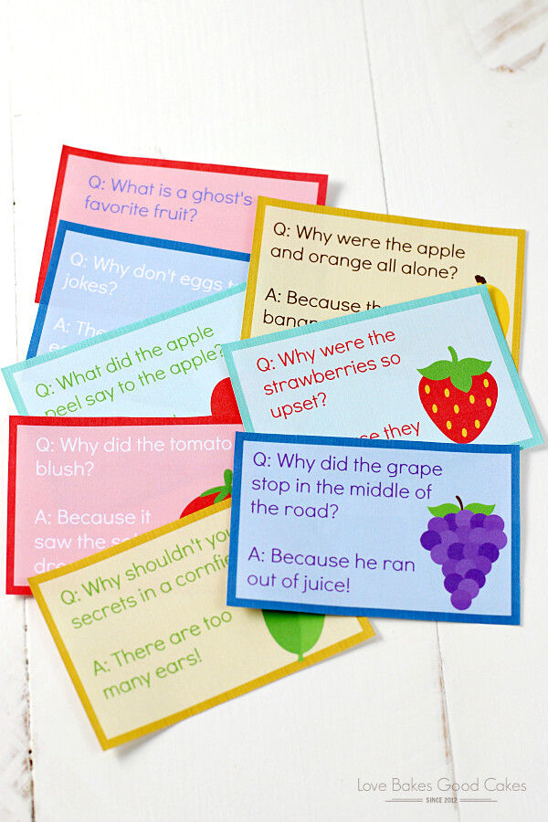 Make lunchtime more fun with these FREE Lunch Box Jokes collage.