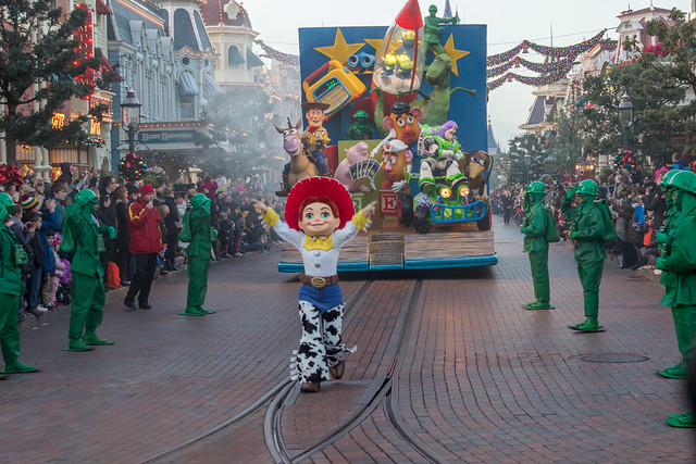 Disneyland Paris parade Toy Story