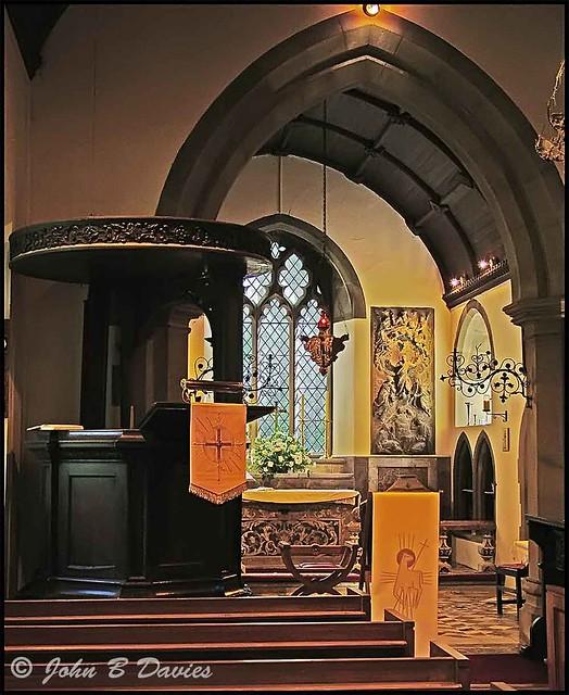 Clyne Church - Inside -