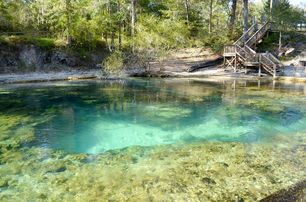 little river springs map - florida