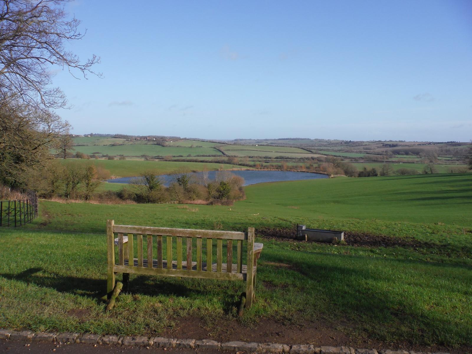 View from Chilton House SWC Walk 191a Haddenham Circular (w/o Brill)