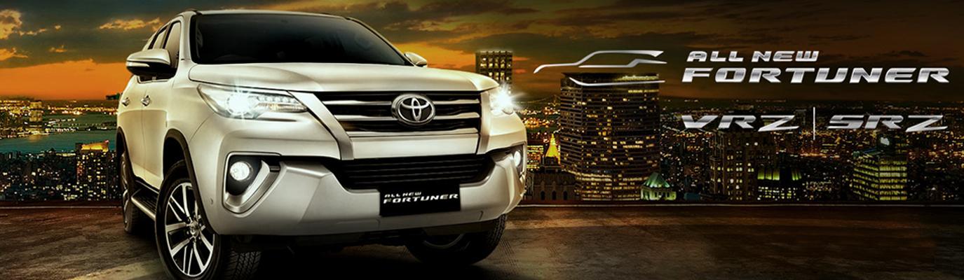 Mobil Toyota All New Grand Fortuner di Jakarta
