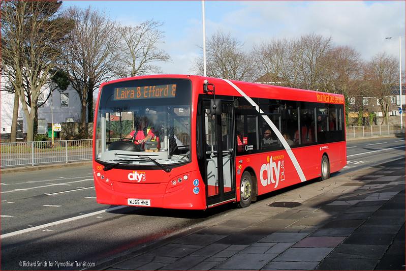 Plymouth Citybus 150 WJ65HME