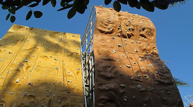 Patio Pacific Rock Climbing Facility
