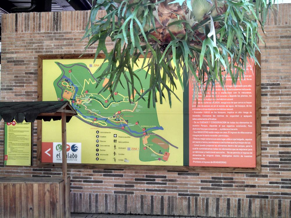 El Salado Park Entrance