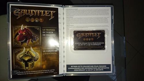 Gauntlet - opened