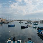 Puerto pesquero de Bari