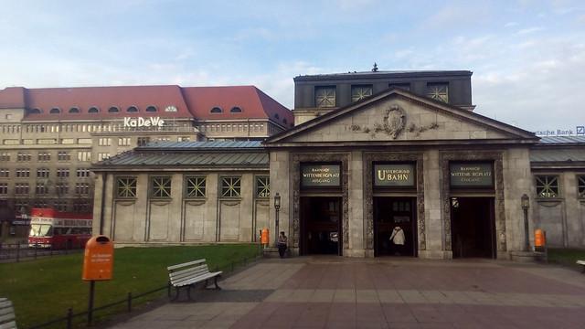 Wittenbergplatz, Berlin, Deutschland