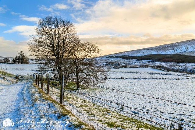 Snow in the Sperrins