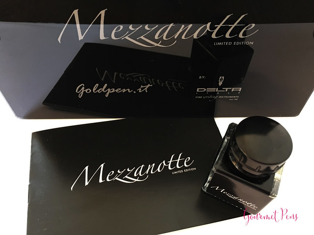 Review GoldPen Delta Mezzanotte Fountain Pen Review (4)
