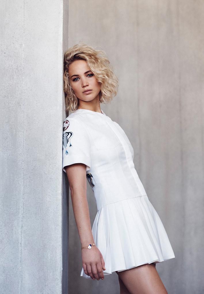 Дженнифер Лоуренс — Фотосессия для «Dior» NG 2015 – 3