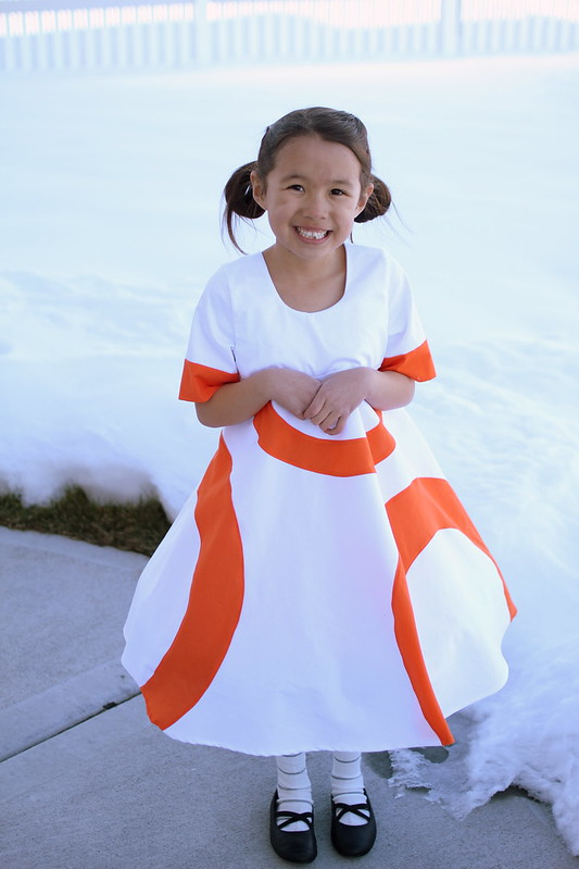 BB8 dress by replicate then deviate