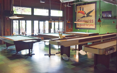 Twains Brewpub Billiards - Pool table rental atlanta