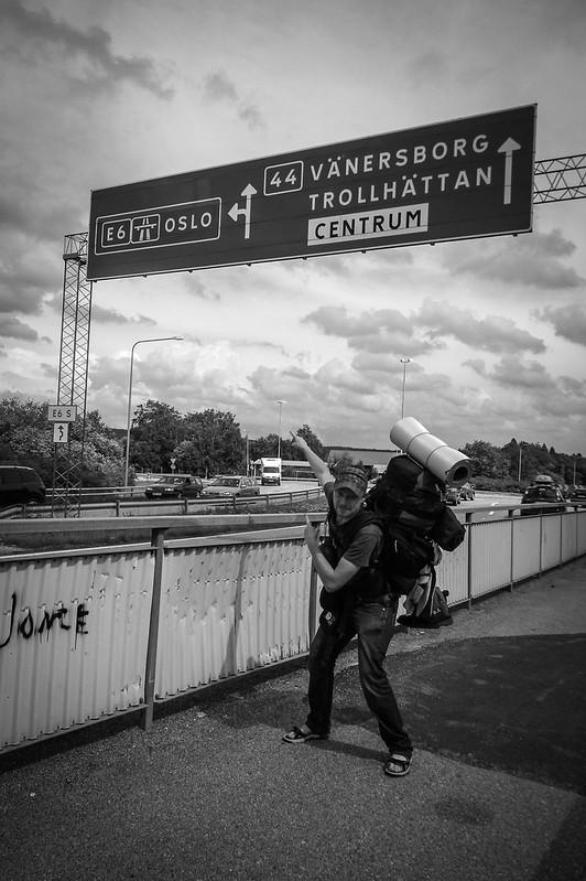 Direction Oslo, Suède