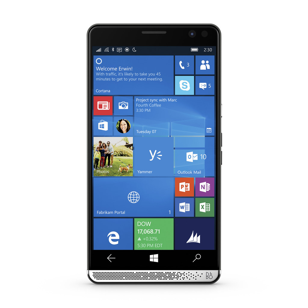 HP Elite x3 Front Facing