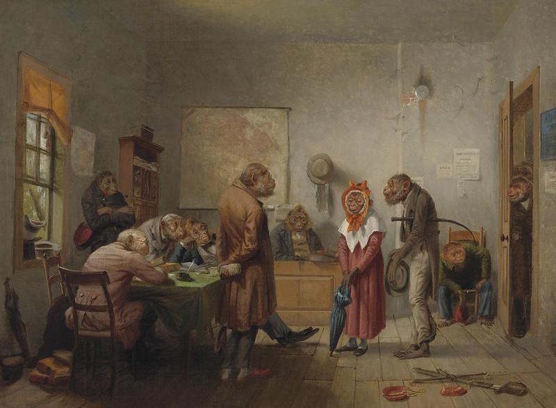 William Holbrook Beard - Divorce, 19th C