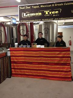 March 12th 2016 Wishbone Brewery Bar