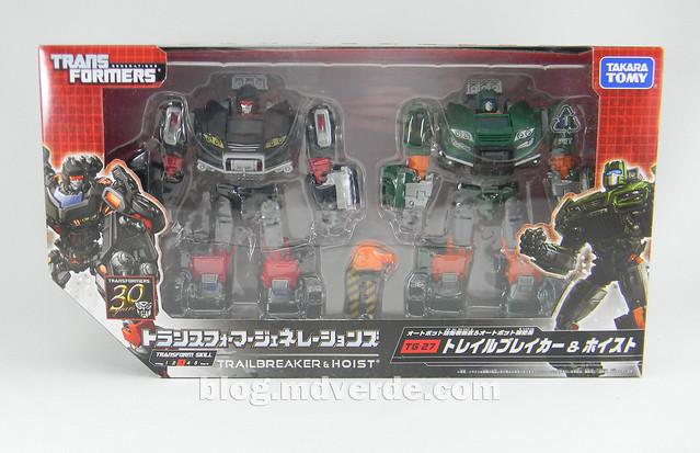 Transformers Trailbreaker & Hoist Deluxe - Generations Takara - caja