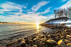 sun is rising over stones-1