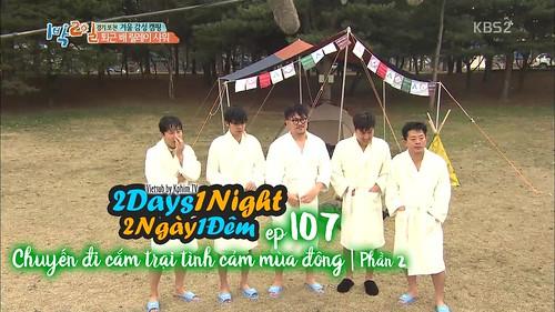 [Vietsub] 2 Days 1 Night Season 3 Tập 107