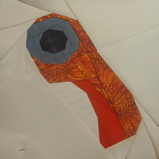 """Rotary cutter 6"""" for mom's quilt."""