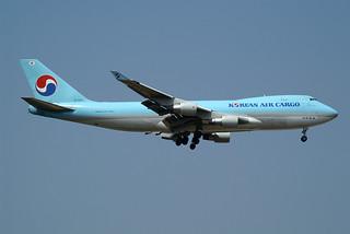 Korean Air Cargo Boeing 747-4B5F/ER/SCD HL7600