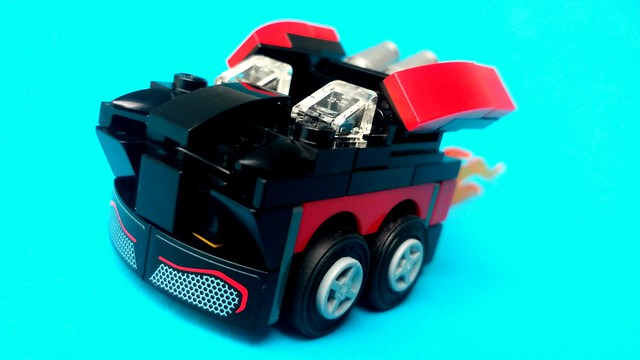 Batman Classic TV Series - Batmobile Mighty Micro