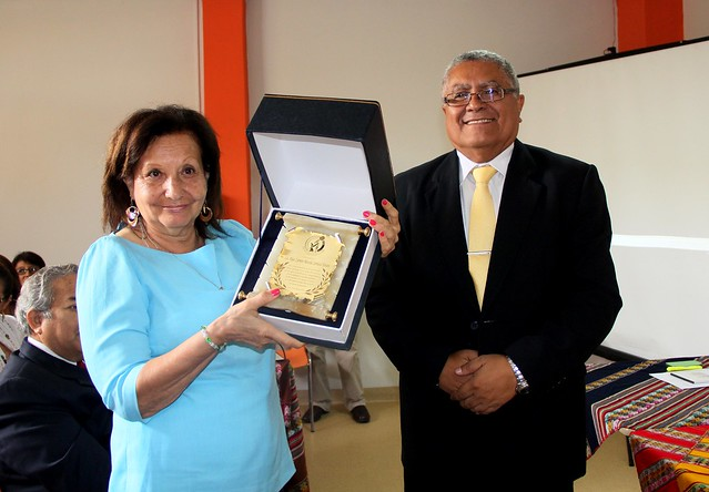 Homenaje a la Bióloga Carmen Carrasco Távara