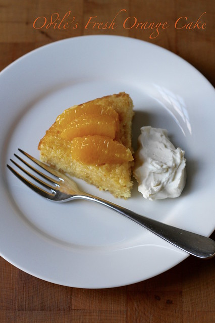odile's fresh orange cake
