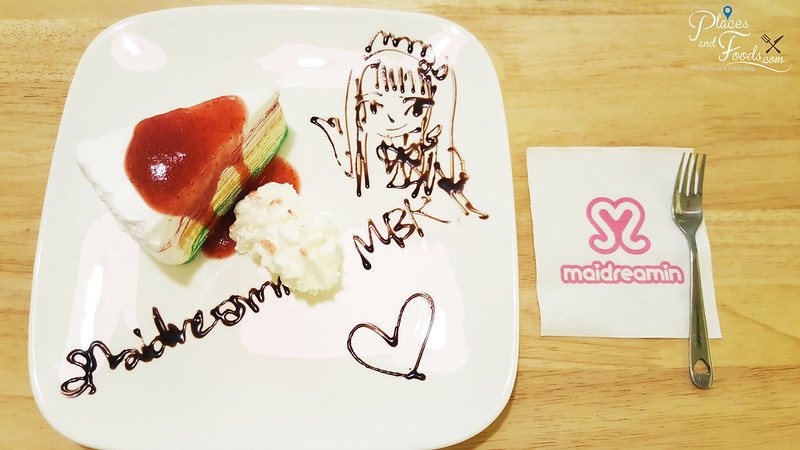 mbk s2 maidreamin maid cafe crepe cake set