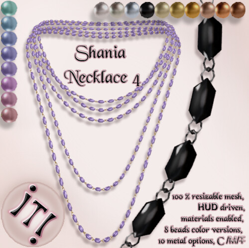 !IT! - Shania Necklace 4 Image