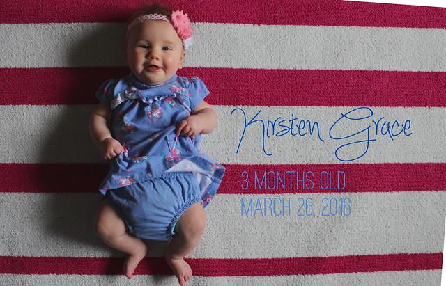 Kirsten Grace Month 3