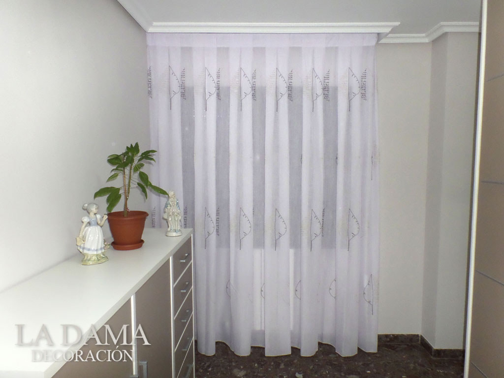 Fotograf as de cortinas modernas la dama decoraci n for Cortinas baratas para dormitorio