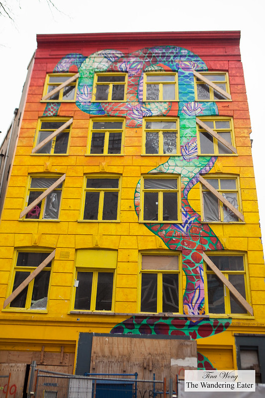 De Slang (The Snake House) in Amsterdam city centre